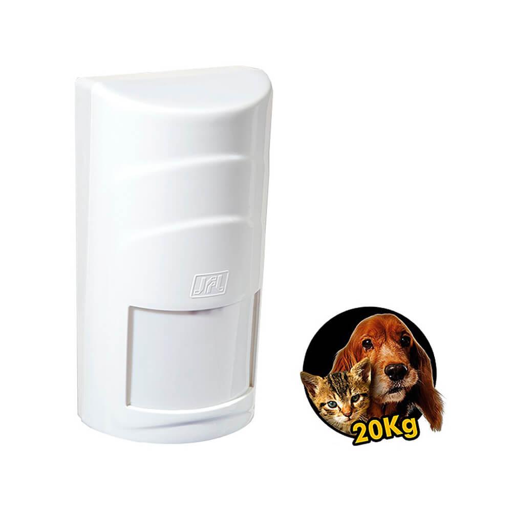 Sensor JFL Sem Fio IR PET 510i Infra Passivo Função PET (20Kg)  - Ziko Shop