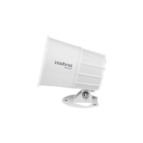 Sirene Intelbras com Fio SIR 2000 Branco 9 a 15 VDC/115 dB  - Ziko Shop