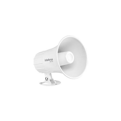 Sirene Intelbras com Fio SIR 3000 Branca 9 a 15 VDC/120 dB  - Ziko Shop
