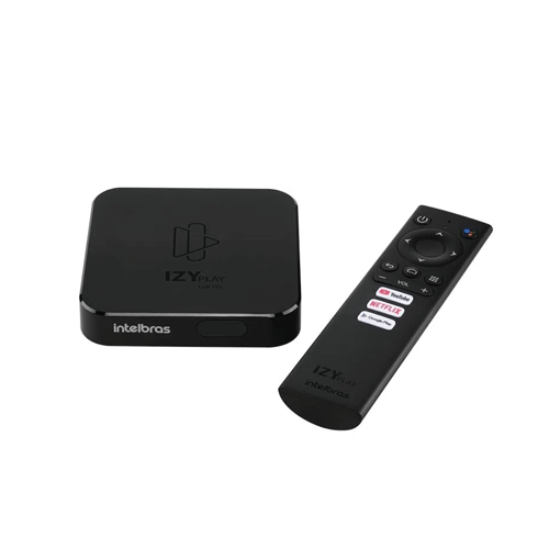 Smart Box Android TV Intelbras IZY Play  - Ziko Shop