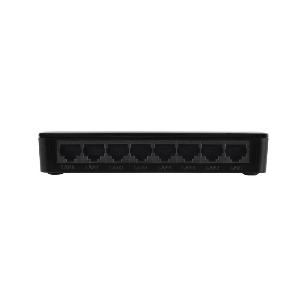 Switch Desktop Intelbras SF 800 Q+ 08 Portas Fast Ethernet POE  - Ziko Shop