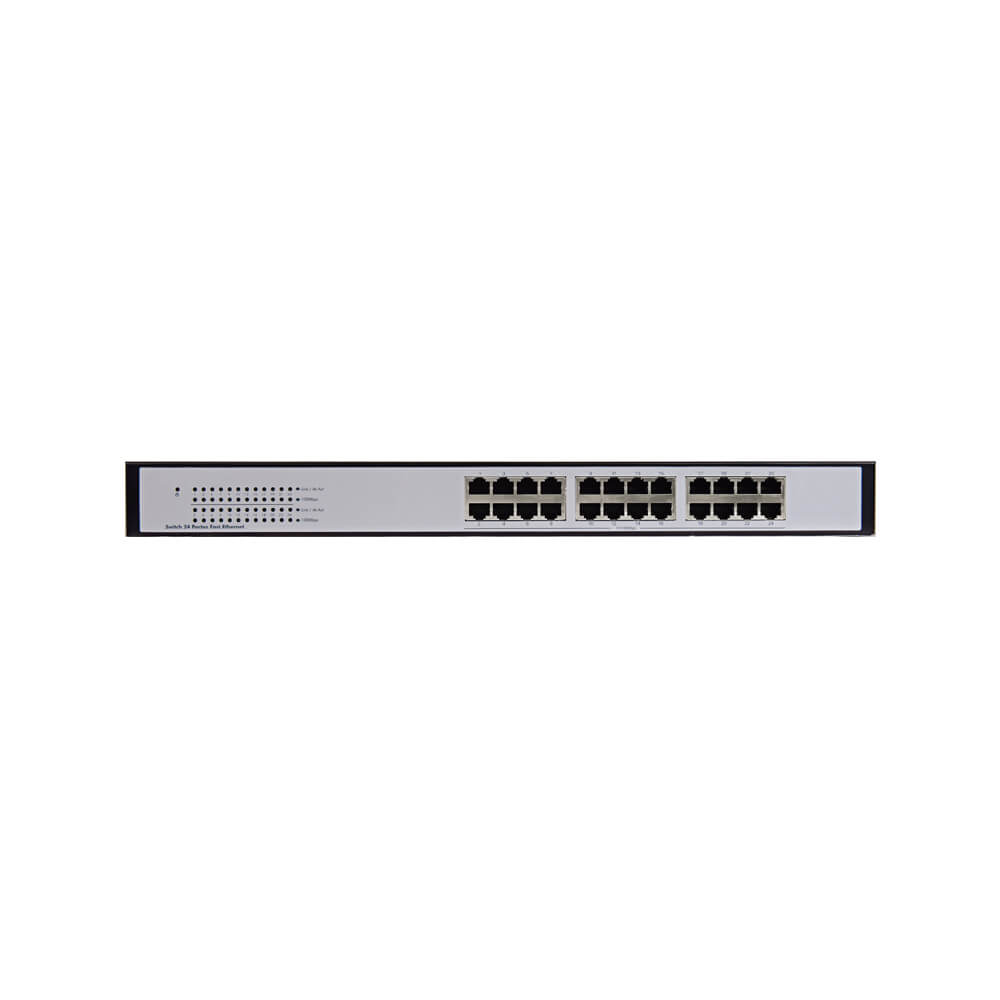 Switch Intelbras SG 2400 QR 24 Portas Gigabit Ethernet  - Ziko Shop