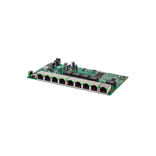Switch PoE Intelbras SF 910 PAC 08 Portas Fast Ethernet 1 Porta Gigabit  - Ziko Shop