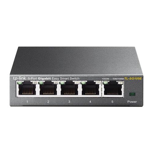 Switch TP-LINK 5 Portas, Giga - TL-SG105E  - Ziko Shop