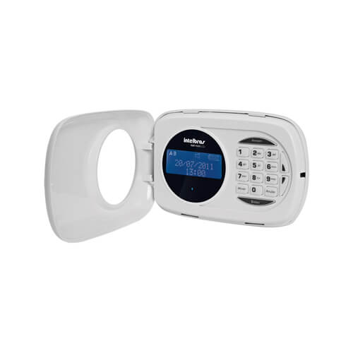 Teclado Intelbras XAT 4000 LCD Alarmes  - Ziko Shop