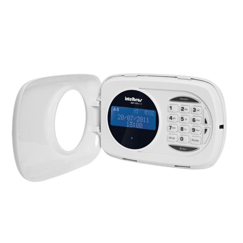 Teclado LCD Intelbras XAT 2000 LCD para central de alarme  - Ziko Shop