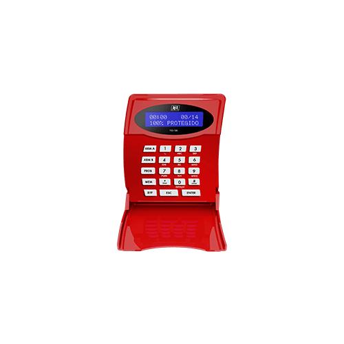 Teclado LCD JFL TCI-100 Para Centrais de Incêndio Vulcano   - Ziko Shop