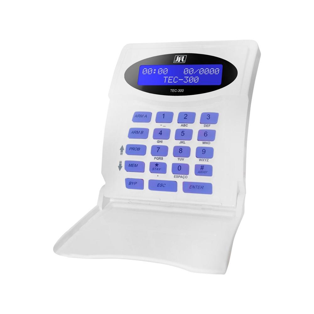 Teclado LCD TEC-300 JFL Para Centrais Monitoráveis Active   - Ziko Shop