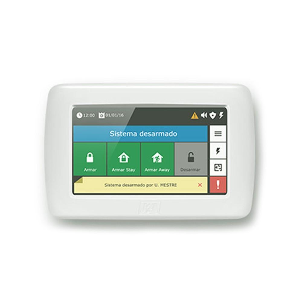 """Teclado LCD TS-400 JFL 4,3"""" Touchscreen Para Centrais  - Ziko Shop"""