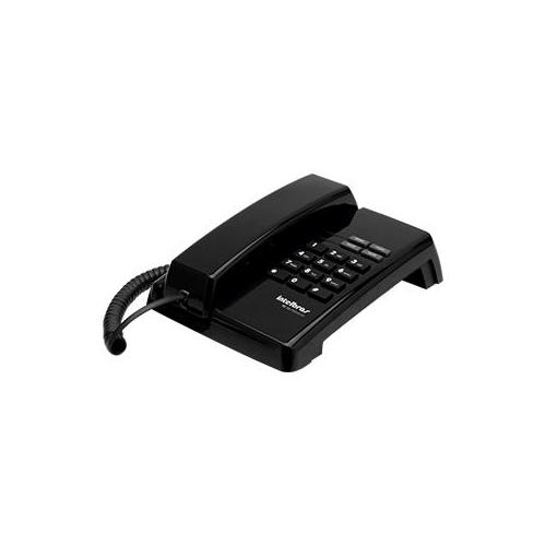 Telefone com fio Intelbras TC 50 Preto  - Ziko Shop