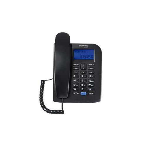 Telefone com fio Intelbras TC 60 ID Identificação de chamadas e Viva-Voz  - Ziko Shop