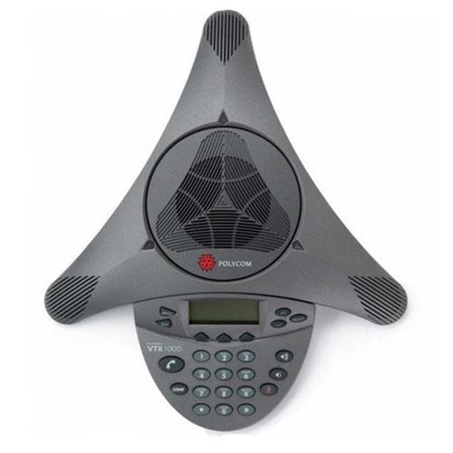 Telefone de Audioconferência Polycom SoundStation - VTX 1000  - Ziko Shop
