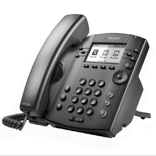Telefone Polycom IP POE Microsoft Lync edition - VVX 310  - Ziko Shop