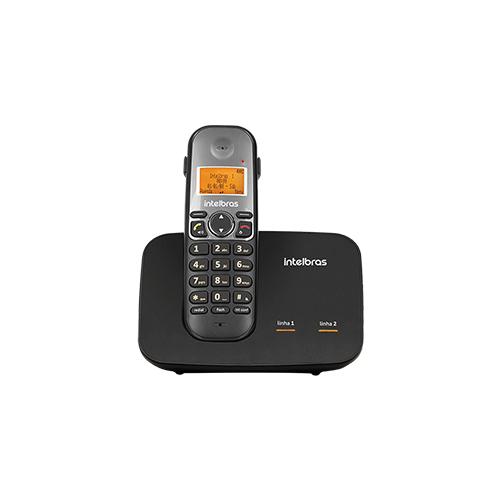 Telefone sem fio com entrada para 2 linhas TS 5150 Intelbras  - Ziko Shop