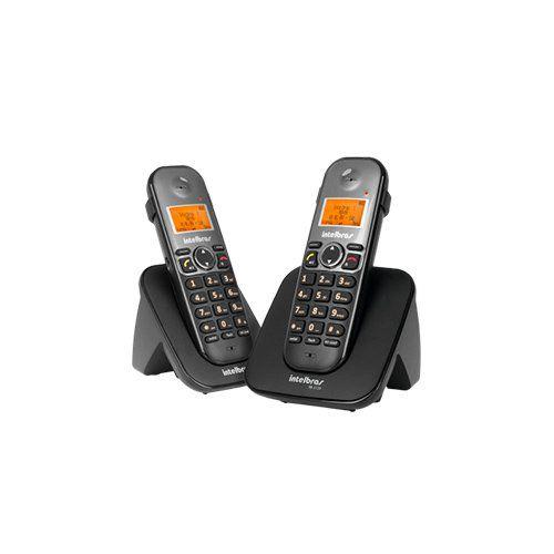 Telefone sem fio digital com ramal adicional Intelbras TS 5122  - Ziko Shop