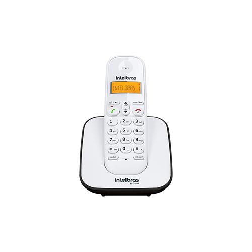 Telefone sem fio digital Intelbras TS 3110  - Ziko Shop