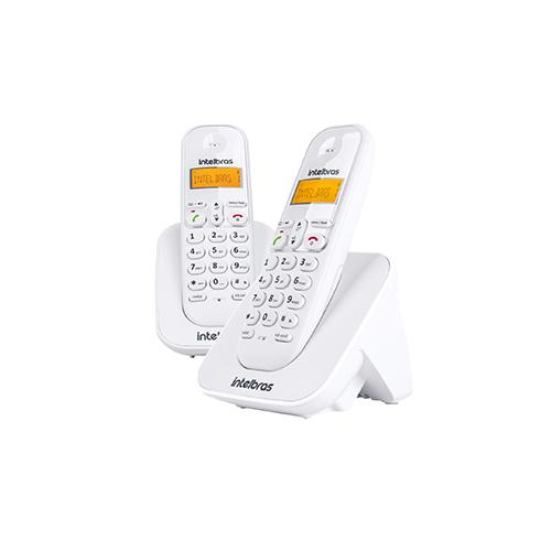 Telefone sem fio digital Intelbras TS 3112 - Branco  - Ziko Shop