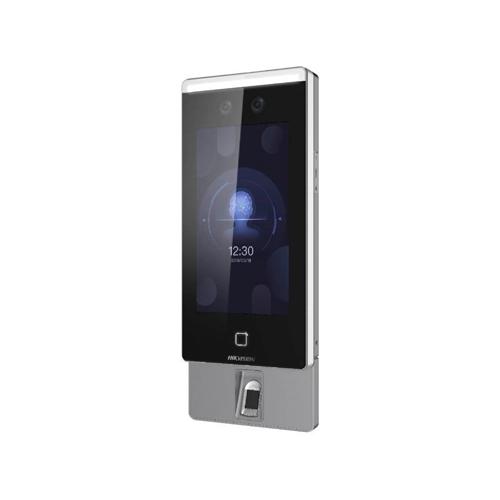 Terminal de Reconhecimento Facial Biometrico e RFID Hikvision DS-K1T671MF-L  - Ziko Shop