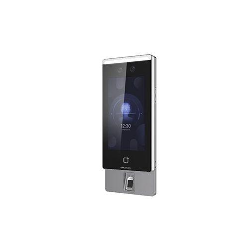 Controlador de Acesso com Reconhecimento Facial Hikvision DS-K1T671MF Biometria + Proximidade 13,56Mhz + Senha  - Ziko Shop