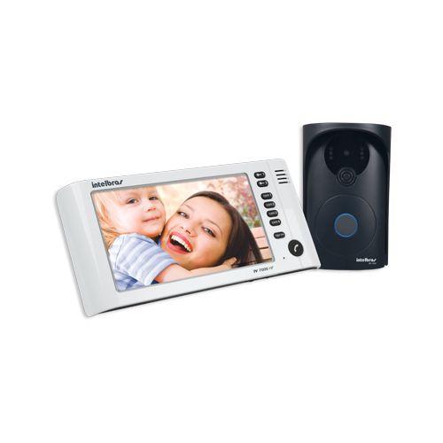 Vídeo Porteiro Intelbras IV 7000 HF - Branco  - Ziko Shop