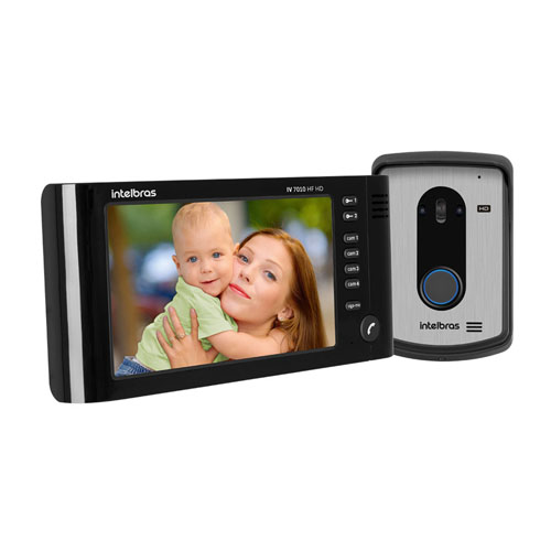 Videoporteiro Intelbras - IV 7010 HF HD  - Ziko Shop