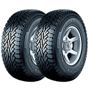 Kit de 2 Pneus Continental  205/70R15 96T FR ContiCrossContact AT