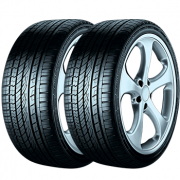 Kit de 2 Pneus Continental  225/55R17 97W FR CrossContact UHP