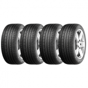 KIT DE 4 PNEUS 205/55R16 91V BRAVURIS 3 BARUM