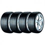 Kit de 4 Pneus Continental 255/50R20 109Y Xl Fr Conticrosscontact Uhp