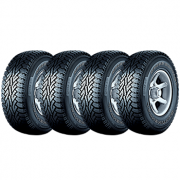Kit de 4 Pneus Continental  205/60R16 92H FR ContiCrossContact AT