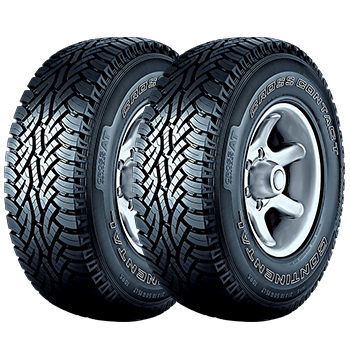 Kit de 2 Pneus 205/60R16 92H FR ContiCrossContact AT Continental