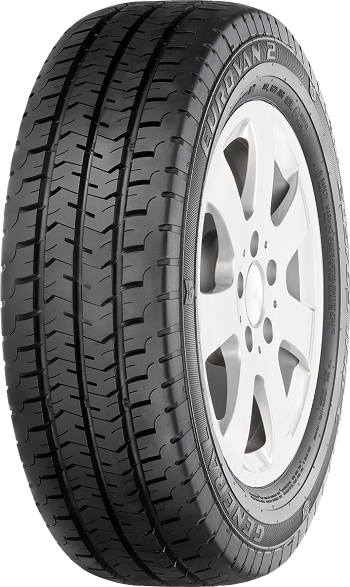 Kit de 2 Pneus 195/70R15C 104/102R Eurovan 2 8PR General Tire
