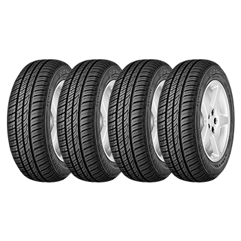 Kit de 4 Pneus 175/65R14 Brillantis 2 82H Barum