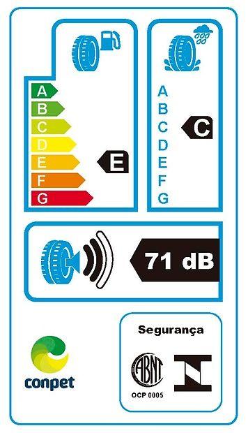 Pneu Aro 14 165/60R14 75H Contiecocontact 3 Continental