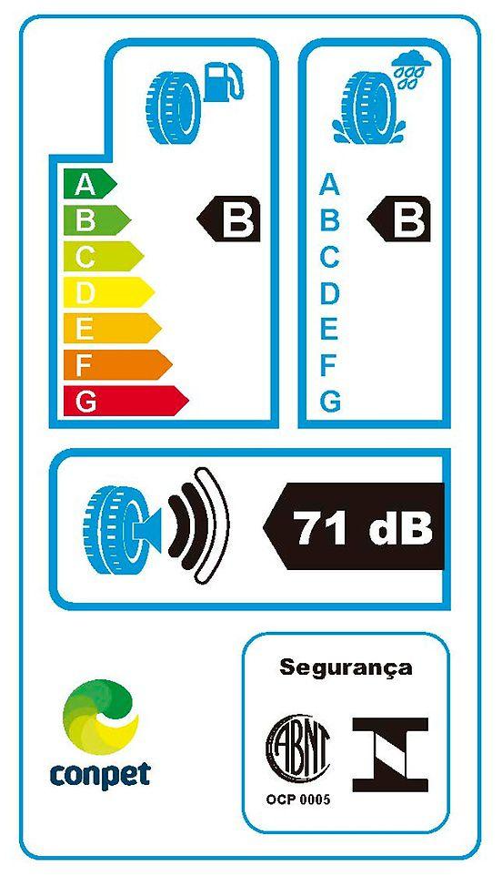Pneu Aro 15 185/65R15 88H Contiecocontact 5 Continental