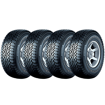 Kit de 4 Pneus 205/60R16 92H FR ContiCrossContact AT Continental