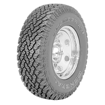 PNEU ARO 16 GENERAL TIRE 285/75R16 122/119Q LRD FR GRABBER AT2 OWL 8PR
