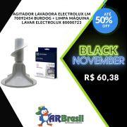 Agitador Lavadora Electrolux LM 70092454 Burdog e Limpa Máquina Lavar Electrolux 80000723