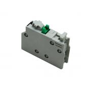 Bloco Contato Auxiliar Frontal Weg BCXMF10 1NA 10356473