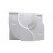Capa Traseira Evaporador Refrigerador Brastemp 326051023