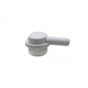 Conector Hidráulico em L de 20mm Lava Louças Brastemp 326007879