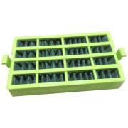 Conjunto Filtro Bactericida Desodorizador Bem Estar Refrigerador Consul  W10515645
