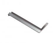 Conjunto Puxador Porta Refrigerador Brastemp - W10509296