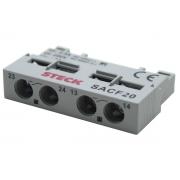 Contato Auxiliar 1NA+1NF Frontal SACF20 97001084451