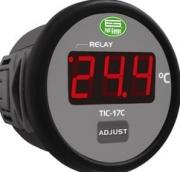 CONTROLADOR REDONDO TIC17C 50+105 127V 220V FULL GAUGE