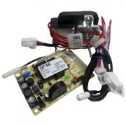 Kit Placa Eletrônica Motor Ventilador Refrigerador Electrolux 70001454