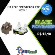 Kit Rele e Protetor PTC Bivolt