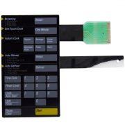Membrana Microondas Samsung MW Preto