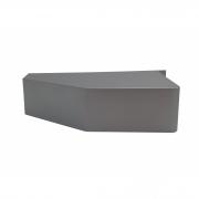 Painel Rodapé Inferior Esquerdo Prata Bosch/Continental 41625