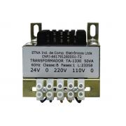 Tranformador Voltagem Bivolt 24V/TA